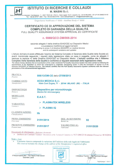 east_certificato